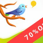 Twitter Liteでデータ利用量が70%オフ