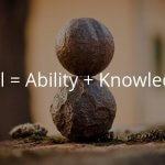 スキルは技能と知識からなる