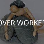 仕事の重石に潰される激務で倒れた過労の人