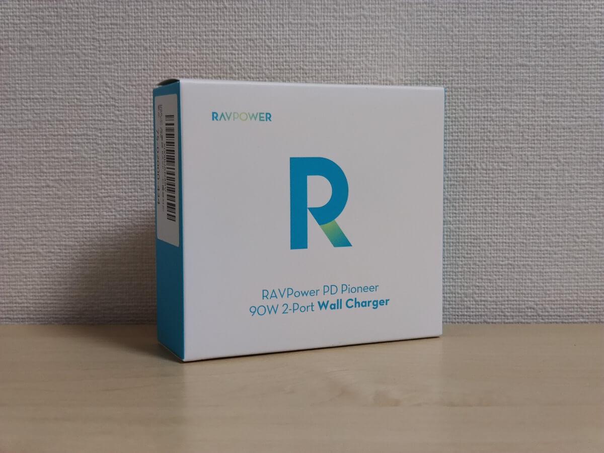 RAVPower RP-PC128の外箱
