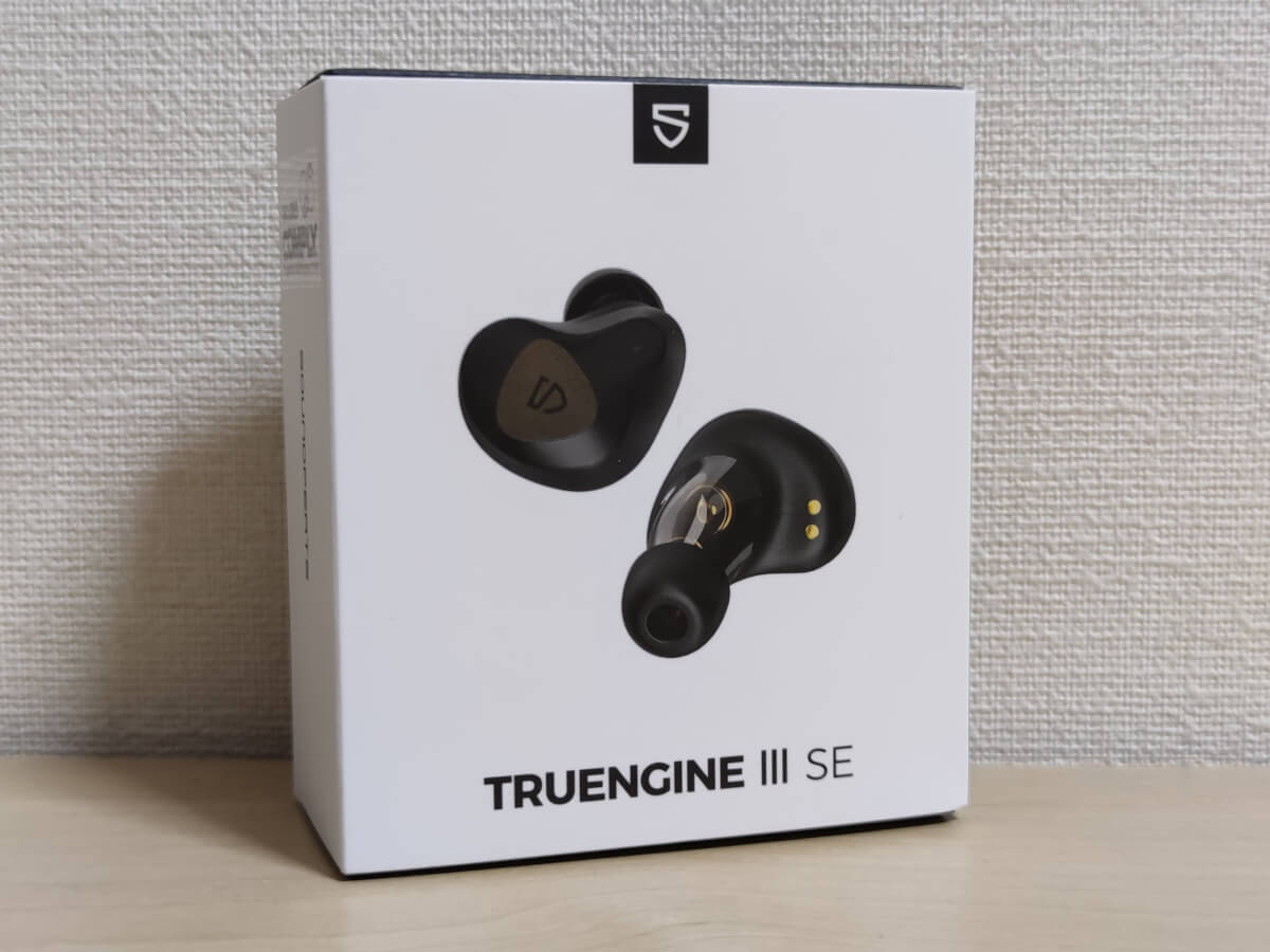 SOUNDPEATS Truengine 3SEの外箱