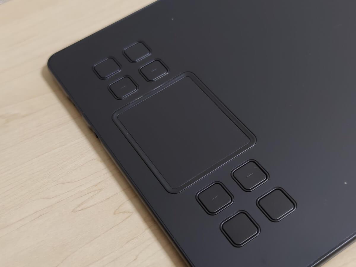 VEIKK A50 ショートカットキー タッチパッド