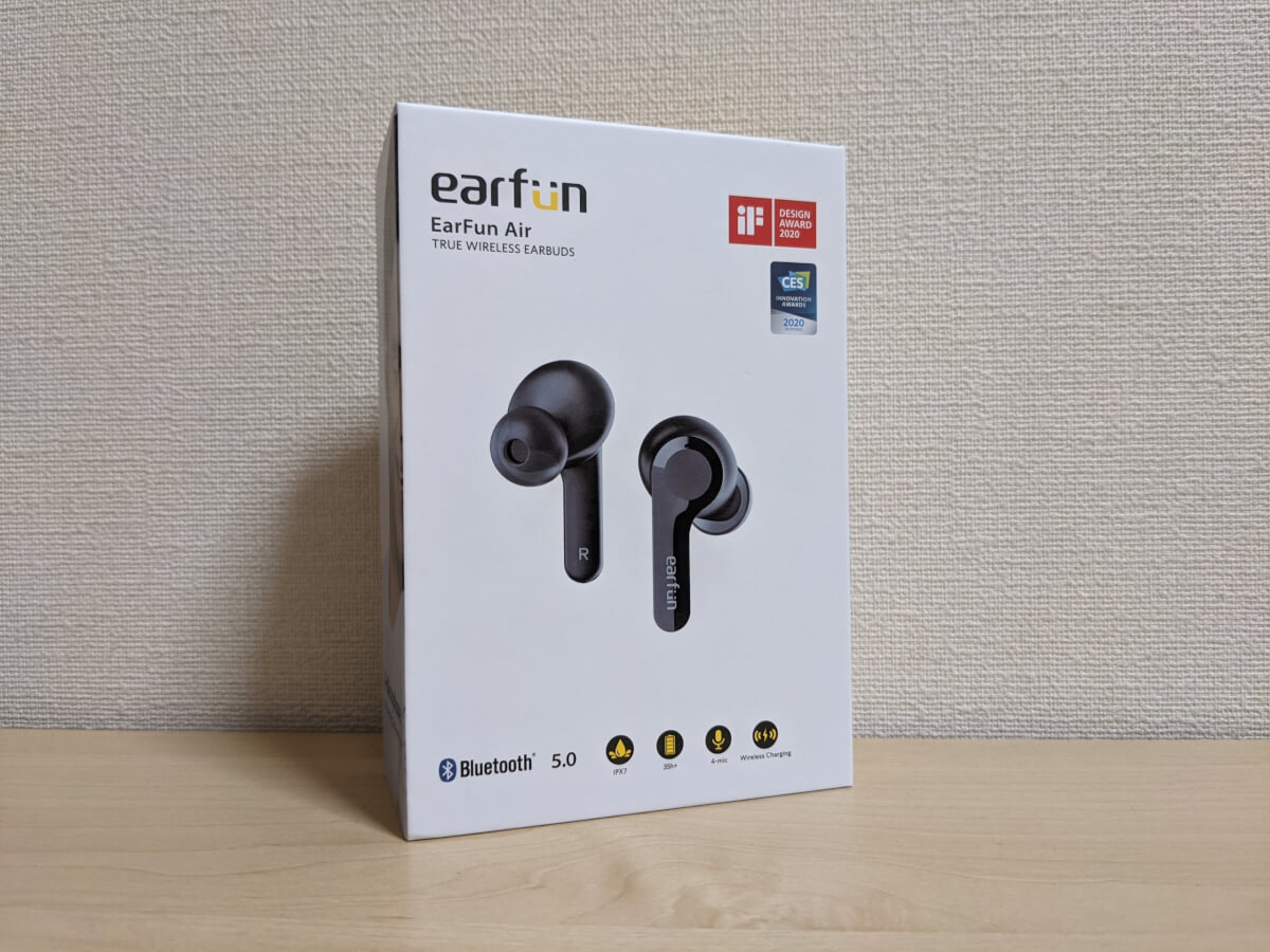 EarFun AIr 外箱