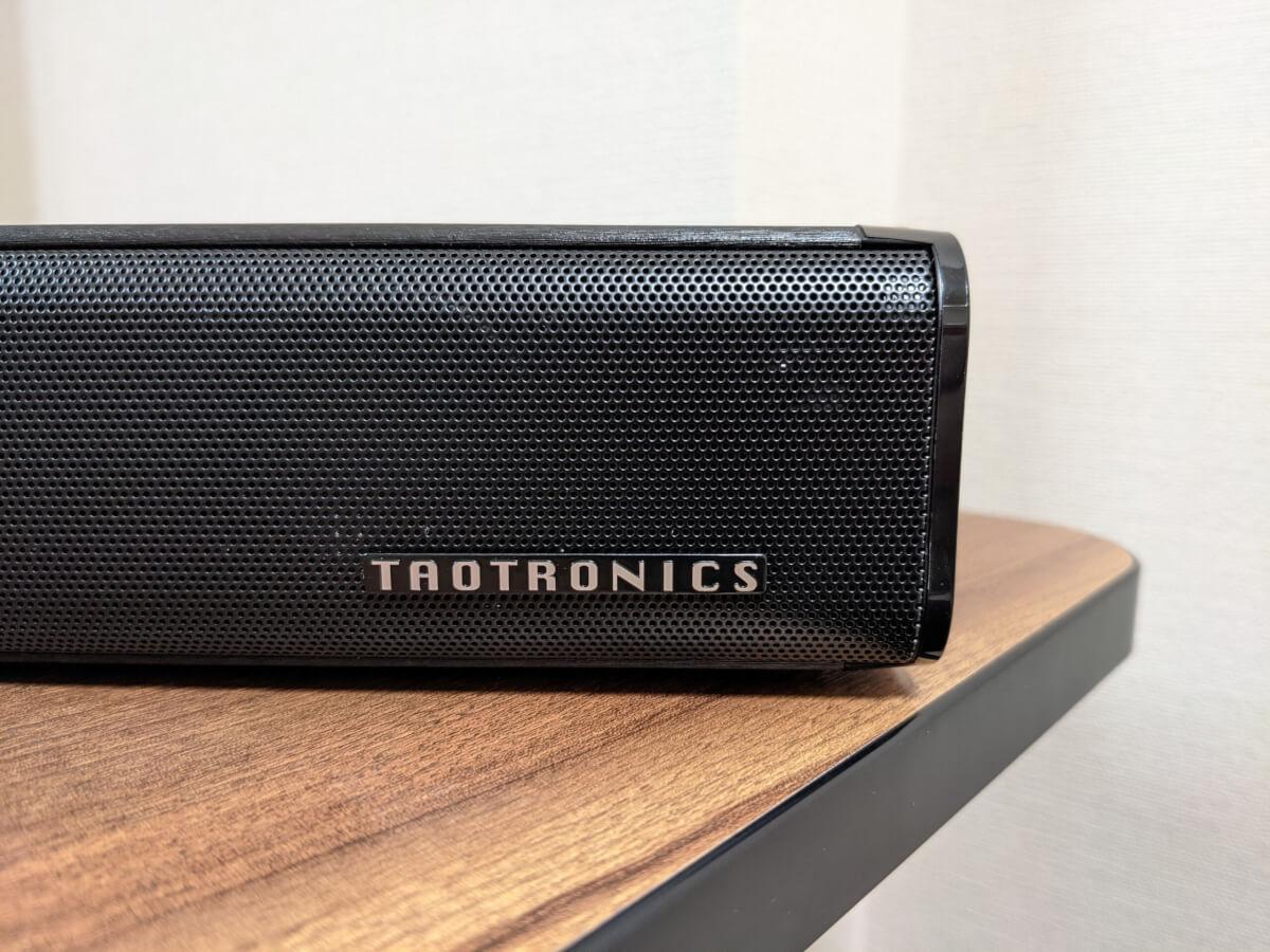TaoTronics TT-SK023 サウンドバー 本体 TaoTronicsのロゴ